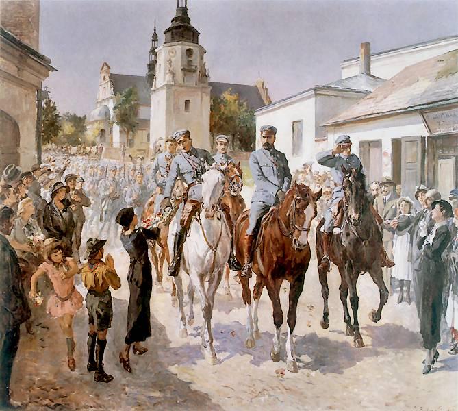 03.wjazd J.P. do Kielc