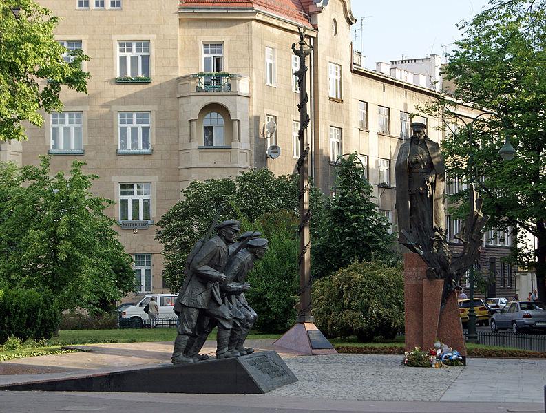 21.pomnik J.P. w Krakowie