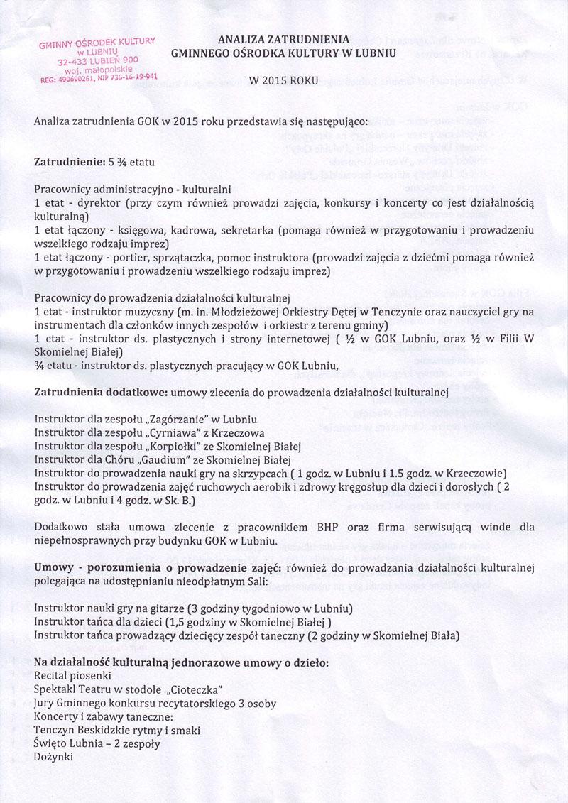 ANALIZA ZATR-1