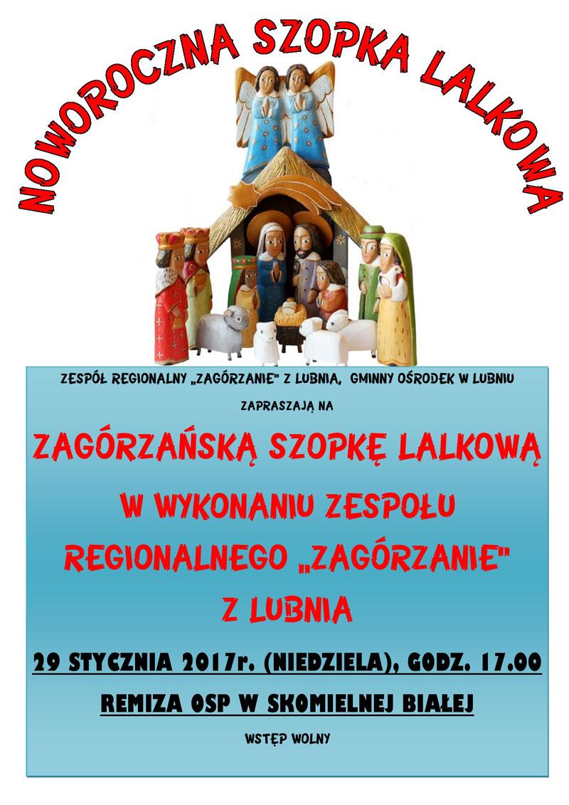 plakat Szopka