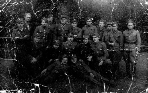 III.Kompania Zgrupowania Błyskawica 1946r.