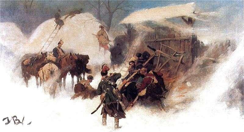 Józef Brandt Konfederaci barscy